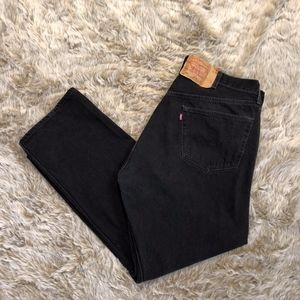 Vintage Levi's Jeans 501 Red Tab Button Fly 42x30